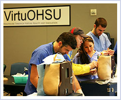 Students in the Nursing Anesthesia Program