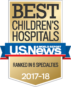US NEWS Best Children Hospital