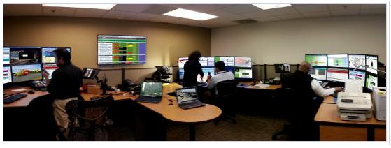 Panoramic View of the Emergency Communication Center