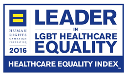 2016 Leader in LGBT Healthcare Equality
